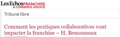 Pratiques collaboratives et impact sur les franchises